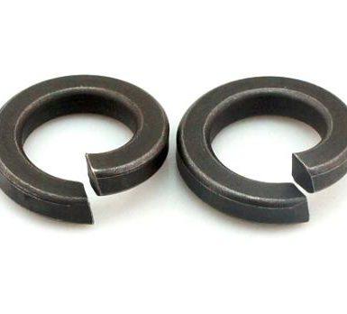 Navadna vzmetna podložka iz črnega oksida DIN127 DIN128
